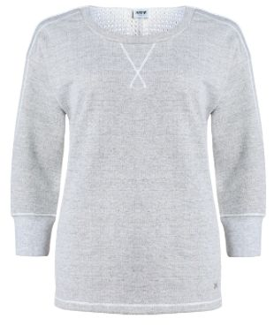 Licht grijze trui van joggingstof! #Jogging #Gris
