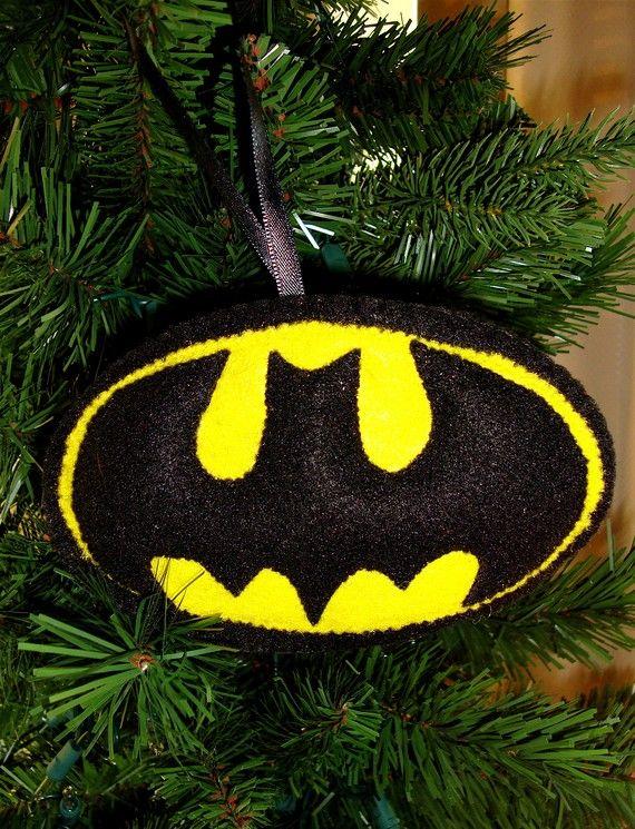 Batman felt ornament