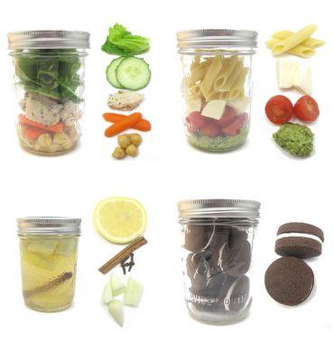 HOW TO create a mason jar meal. Tips + recipes, too!