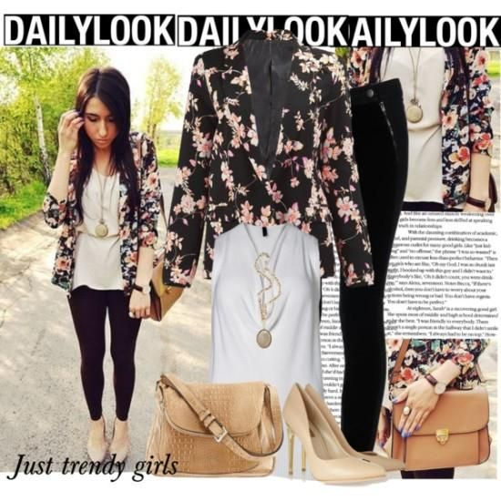 how to wear a floral blazer Floral blazers styling ideas http://www.justtrendygirls.com/floral-blazers-styling-ideas/