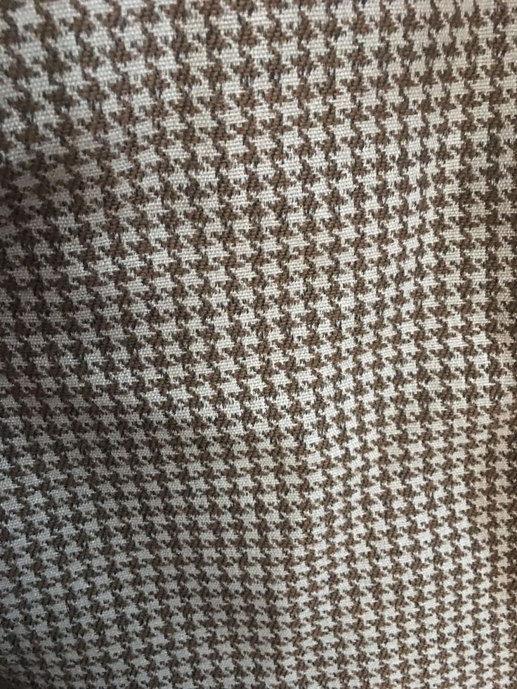 Greenhouse Houndstooth Fabric - 5 Yards on Chairish.com