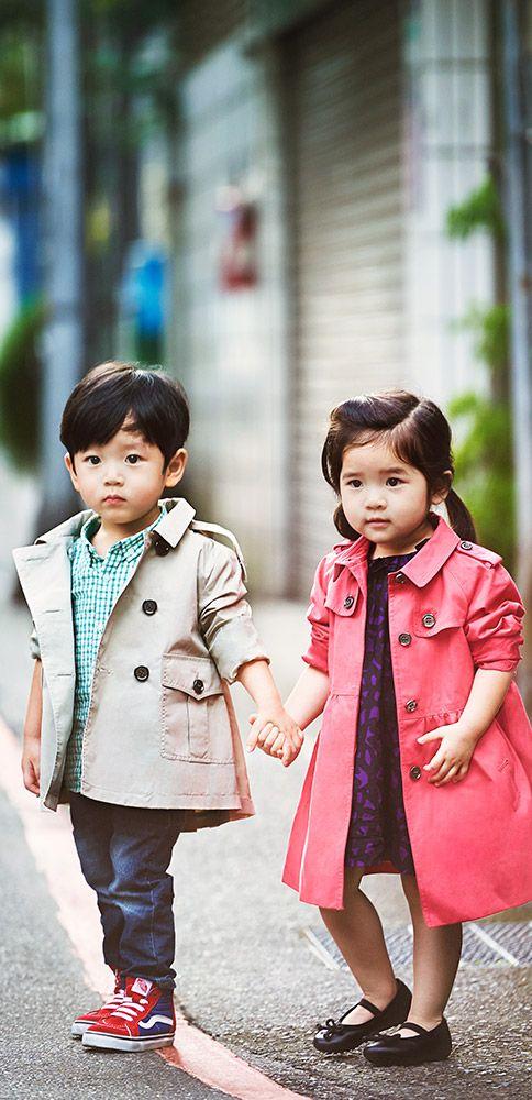 Burberry - Chelsea & Jesper shot by Ting-Kuei Shao in Taipei