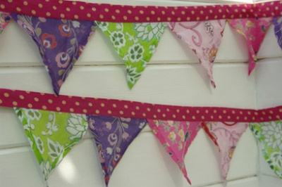 Beautiful fairtrade bunting