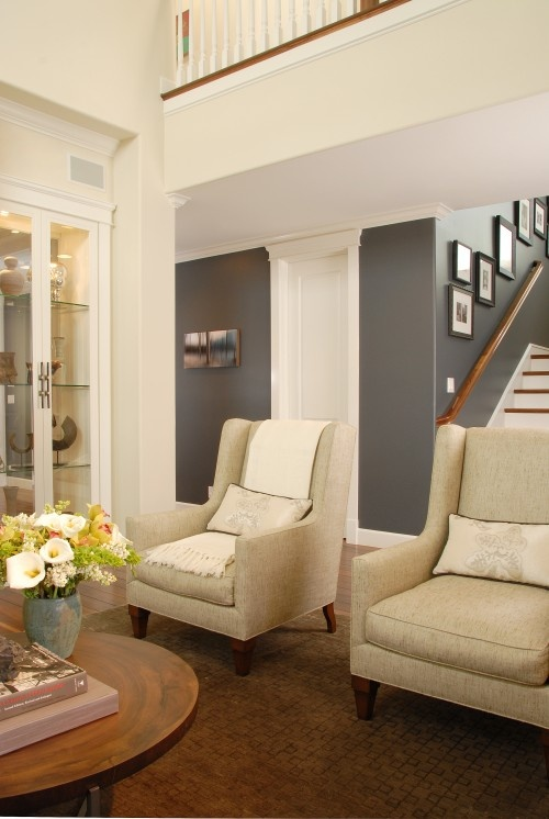 LOVE THIS PAINT! THIS IS THE COLOR I'VE BEEN LOOKING FOR!!!!!!!!!!!!!!!!!    mink gray by sherwin williams.