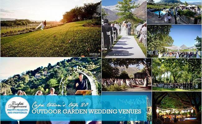 Cape Town Garden Wedding Venues