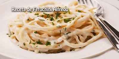 Receta de Fetuchini Alfredo