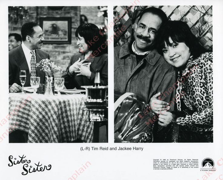 Sister Sister, 1994 - Tim Reid and Jackee Harry