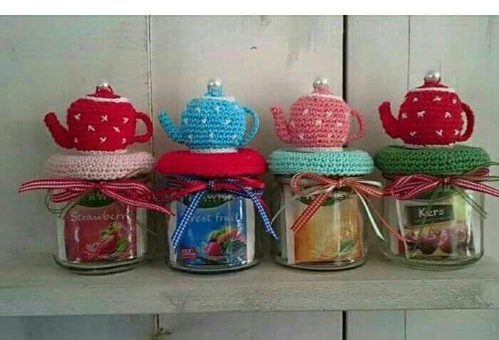 Cadeautjes met thee en theepotje