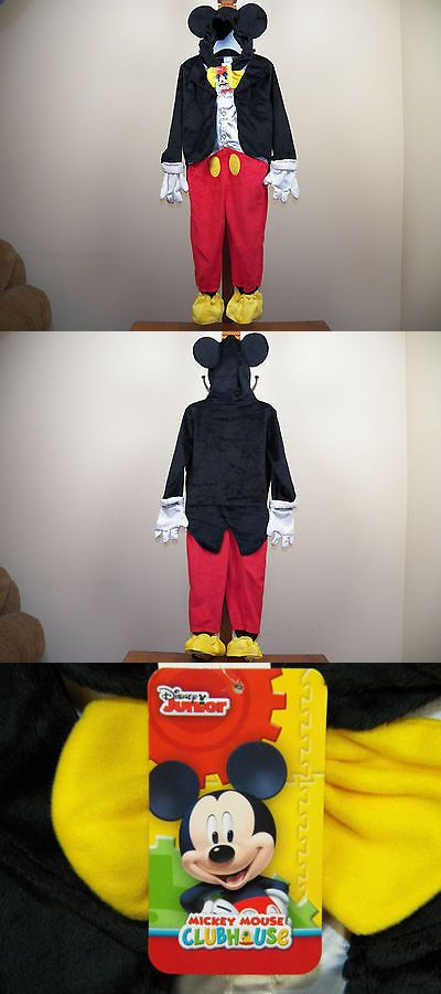 Halloween Costumes Kids: Disney Junior Kids Mickey Mouse Halloween Costume Size 4/5T Nwt -> BUY IT NOW ONLY: $34.99 on eBay!