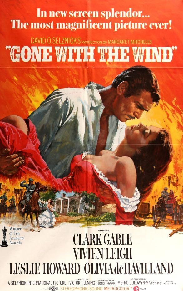 Gone With The Wind 1939 Iconic Movie Posters Classic Films Posters Original Movie Posters