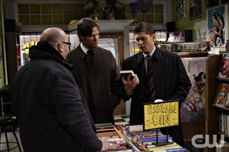 """The Monster at the End of This Book"" -  (l-r) Michael P. Northey as Dan Dabb, Jared Padalecki as Sam, Jensen Ackles as Dean in SUPERNATURAL on The CW. Photo: Michael Courtney/The CW©2009 The CW Network, LLC. All Rights Reserved.pn"