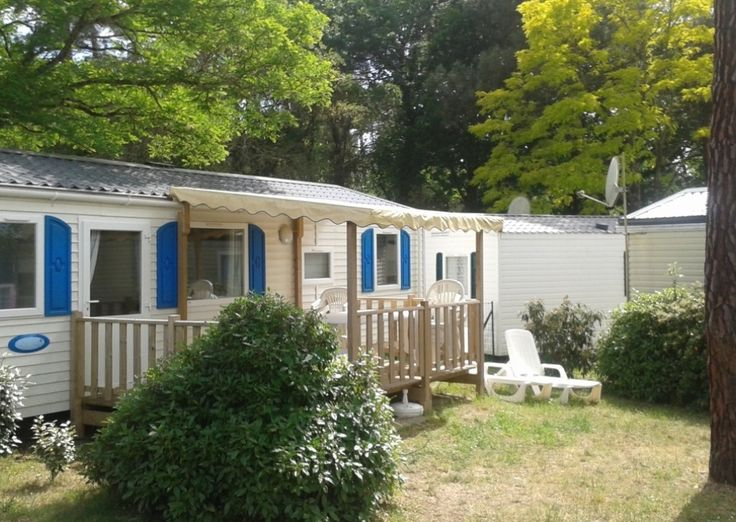 Mobil-Home GRAND FAMILY ESPACE - 6/8 personnes - Camping Palmyre Loisirs