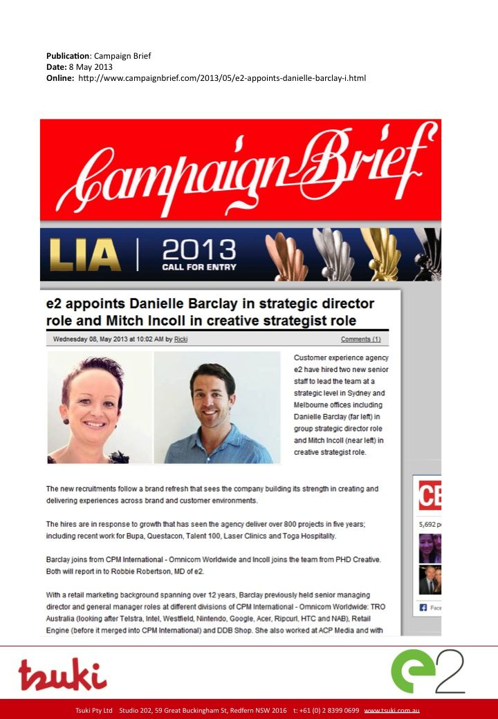 Media: Campaign Brief