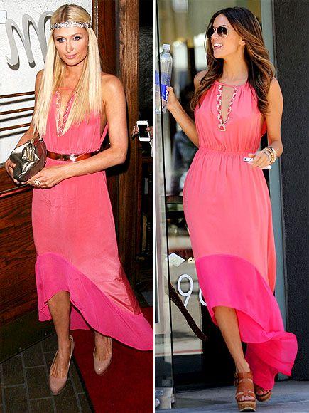 Chelsea Flower color-block halter dress. IN LOVE. Srsly.
