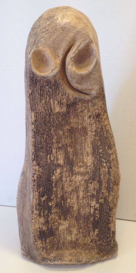 Owl - clay - ceramic