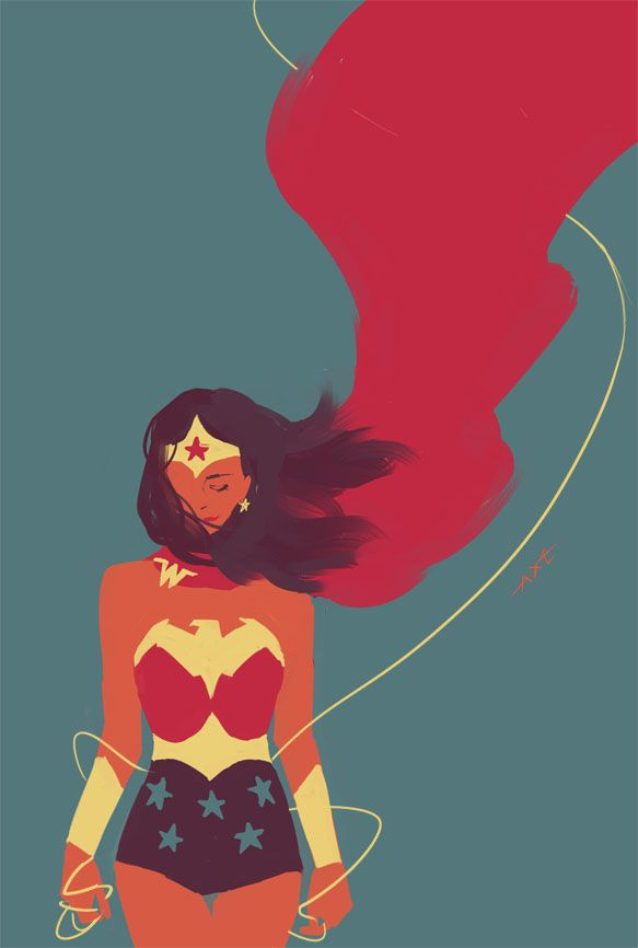 Wonder Woman by Axeeeee *