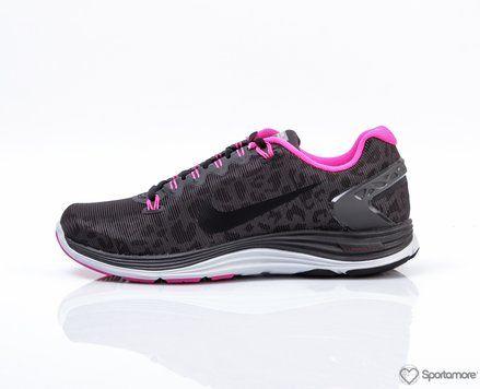 W Lunarglide+ 5 Shield Nike Sko Løpesko Pronasjonssko