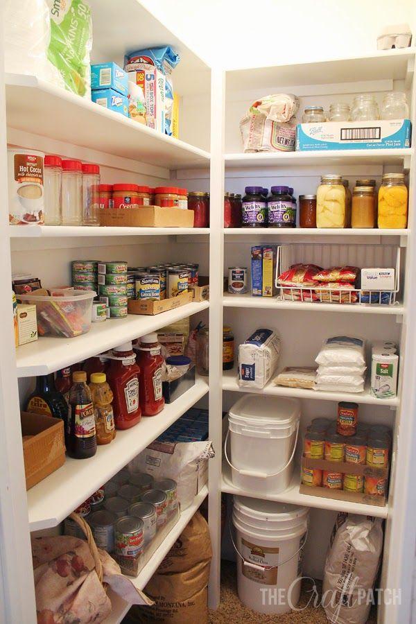 Closet Pantry Shelving Ideas Diy
