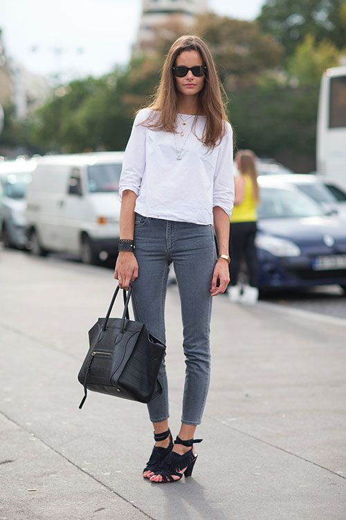 Street Style: Paris Fashion Week Spring 2014 - Céline bag