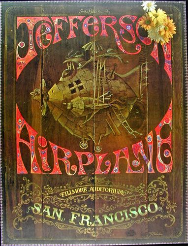 jefferson airplane - fillmore auditorium san francisco