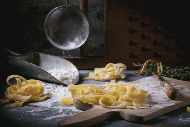 Jednoduchý recept na domácí těstoviny