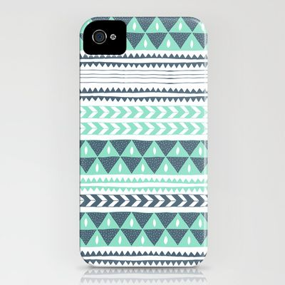 Winter Stripe iPhone & iPod Case
