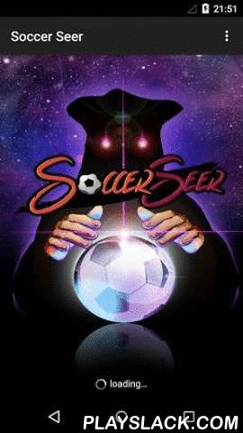 Soccer Seer  Android App - playslack.com , **************************************************************************************************************************** We do not favor in any way gambling, we only give tips and advice on the result of the greatest matches of the day ** The game D ' CHANCE and ' prohibited MINORS (<18 ) ! ** No responsibility can be attributed to the operators of the system, nor to the creators of the predictions…