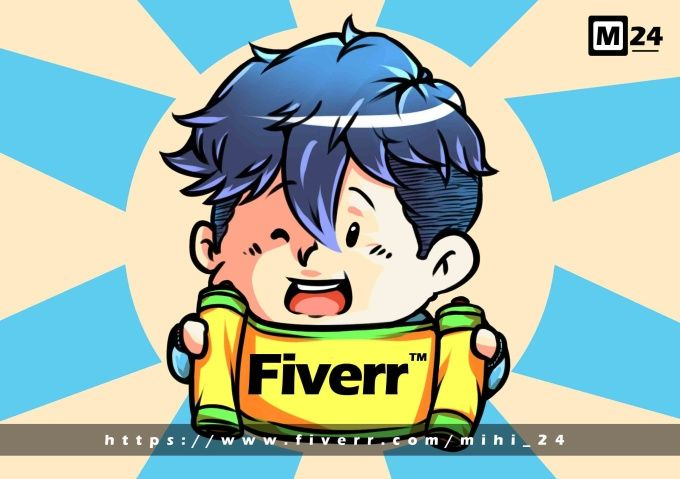 draw your avatar with my full body and color chibi just $5