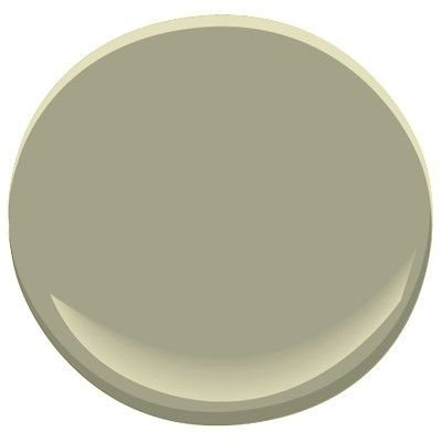 Cypress Green from Benjamin Moore. This color is timeless, elegant and classic - perfect for a traditional room.