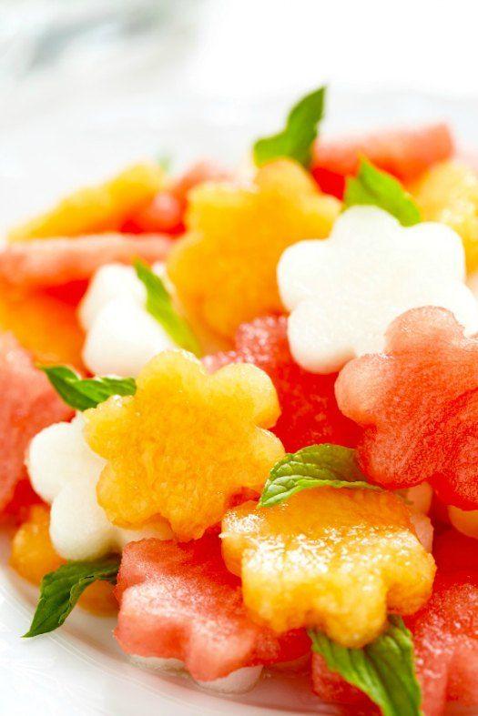 Cutest Watermelon Basil Salad Ever On https://fearlessfresh.com/fresh-strawberry-peach-cobbler-recipe on