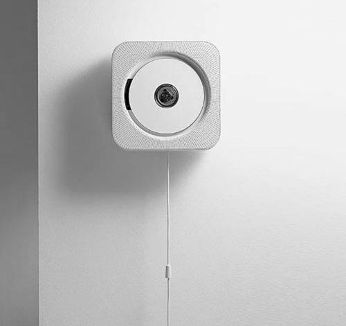 wall-mounted CD player by Japanese industrial designer, Naoto Fukasawa for Muji naotofukasawa.com
