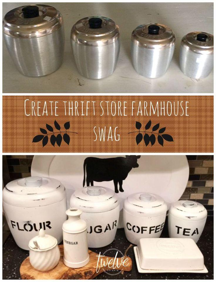 Thrift Store Farmhouse Swag Series!