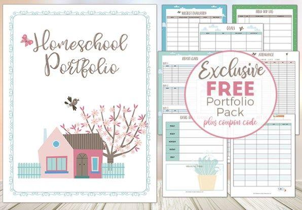 5129 best free homeschool deals images on pinterest homeschooling free homeschool portfolio pack limited time fandeluxe Gallery