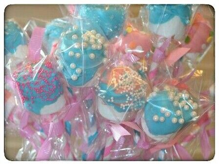 Princess theme birthday party favors or baby shower favors.  Colorful and fun.