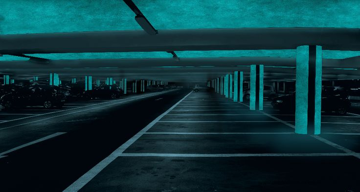 Podzemná garáž -  MAGIC LIGHT - fosforujúci náter