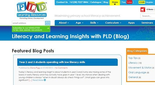 Literacy and Learning Insights with PLD