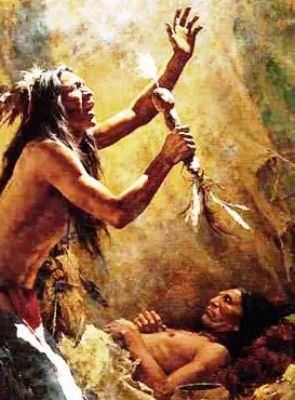 Cheyenne Medicine Man and Native American Religion