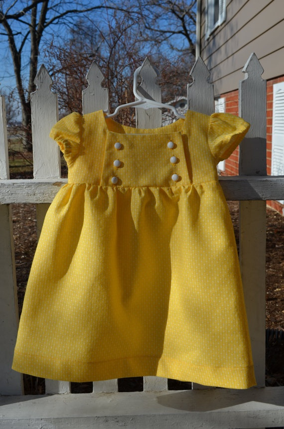 Sunshine Dress 2 2T by MySweetGeorgia on Etsy, $30.00