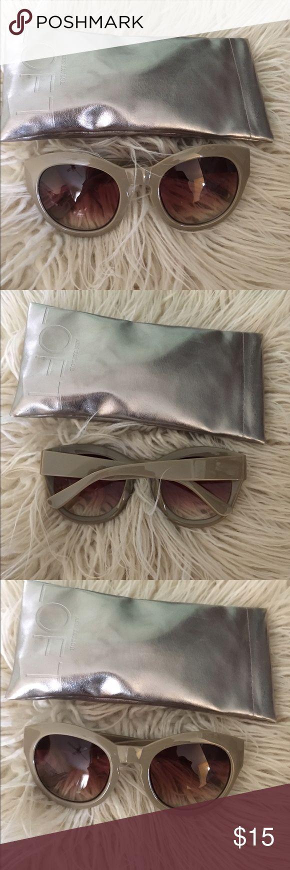 Anne Taylor loft sunglasses Cute grey Ann Taylor loft sunnies never worn NWOT Ann Taylor Accessories Sunglasses