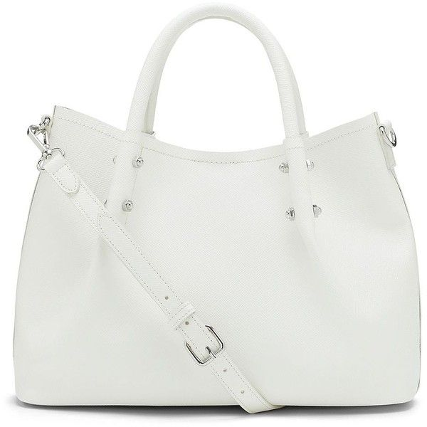 Vince Camuto Tosha Leather Small Tote found on Polyvore