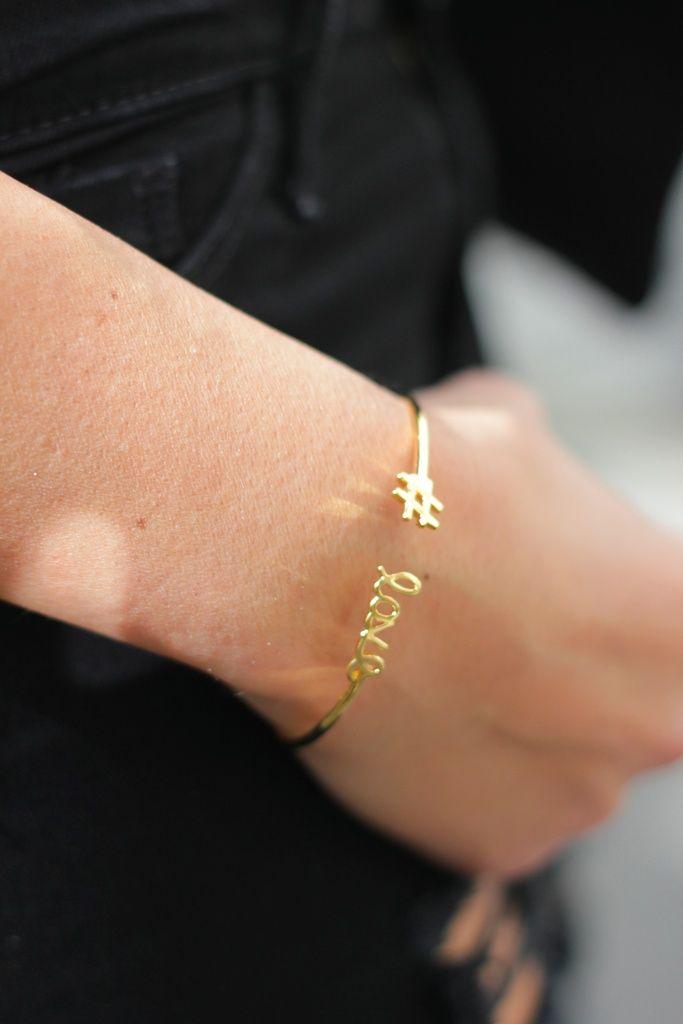Bracelet message Marion Bartoli by Maty. Le blog de Lilou.