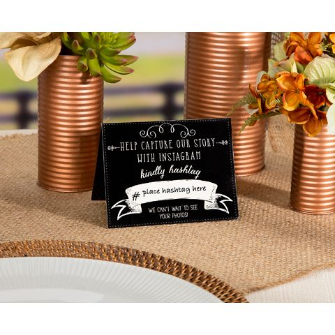 Hashtag Wedding Signs | Wedding Signage Shop Afloral.com