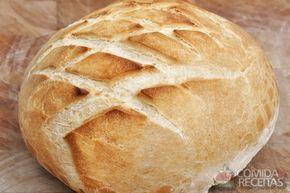 Receita de Pão italiano caseiro - Comida e Receitas