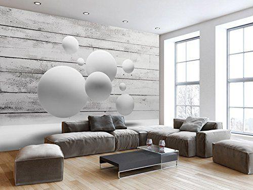 Murando Fototapete Holz 350x245 Cm Vlies Tapete Moderne