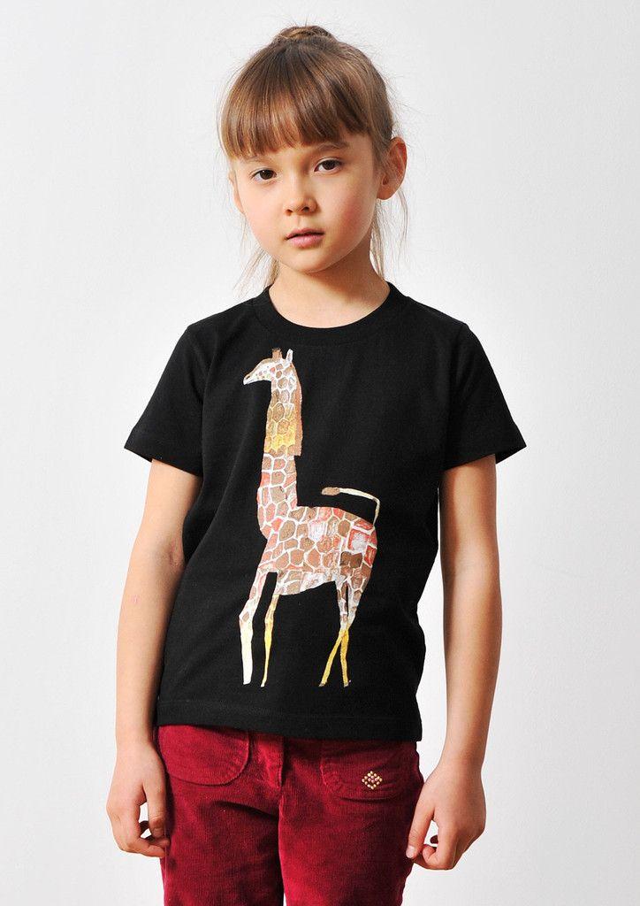mirocomachiko (Reticulated Giraffe)(KidsT) – Design Tshirts Store graniph