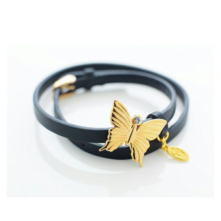 Butterfly Armband, Guld - Carolina Gynning - Carolina Gynning - RoyalDesign.se