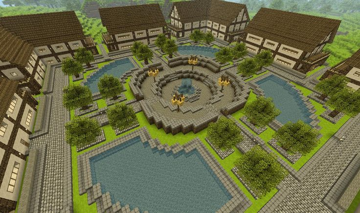 minecraft town layouts Search Pictures Photos