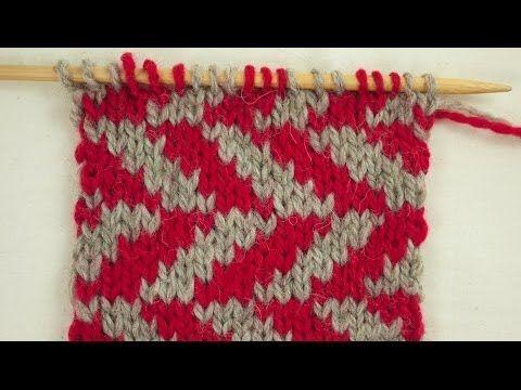 Stranded or Fair Isle Knitting with Edie Eckman | Creativebug - YouTube