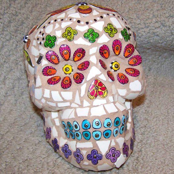 Mosaic Sugar Skull