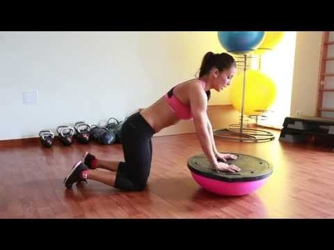 30 Minutes Total Body Workout with Bosu Ball and voice over - YouTube